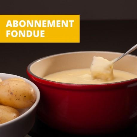 Abonnement Fondue du Bouèbo ( pur vacherin )